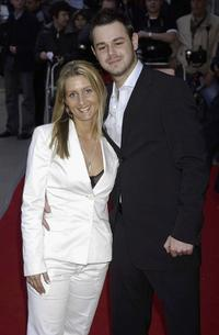 Joanne and Danny Dyer at the UK premiere of