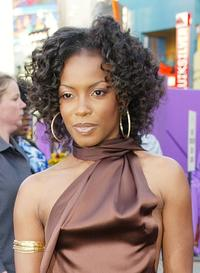 Aunjanue Ellis at the premiere of
