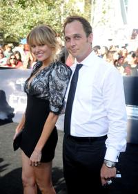 Sunny Mabrey and Ethan Embry at the premiere of