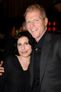 Sue Kroll and Noah Emmerich at the after party of the premiere of