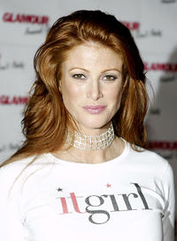 Angie Everhart at the Glamour Magazines Don't party in California.