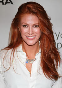 Angie Everhart at the Esquire House LA's
