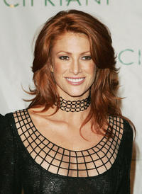 Angie Everhart at the  Sean P. Diddy Combs 35th Birthday Celebration in New York.