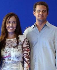 Caroleen Feeney and Jonathon Shoemaker at the photocall of