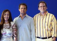 Caroleen Feeney, Jonathon Shoemaker and Peter Hermann at the photocall of