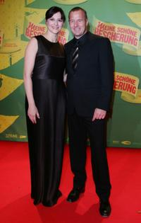 Martina Gedeck and Heino Ferch at the premiere of
