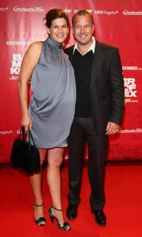 Marie-Jeanette Ferch and Heino Ferch at the premiere of