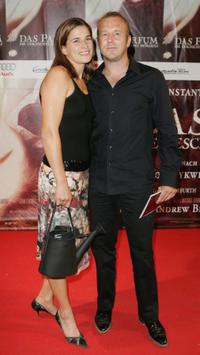 Marie-Jeanette Steinle and Heino Ferch at the premiere of