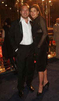 Heino Ferch and Marie-Jeanette Ferch at the 58th Berlinale Film Festival.