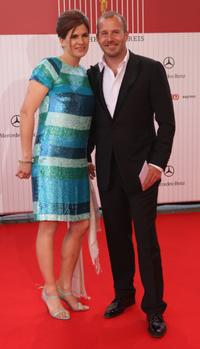 Heino Ferch and Marie-Jeanette Ferch at the German Film Award.