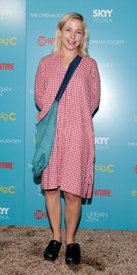 Alicia Goranson at the screening of