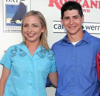 Alicia Goranson and Michael Fishman at the DVD launch of