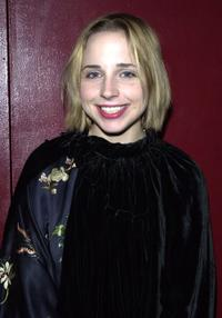 Alicia Goranson at the Soho Rep. theater company benefit.