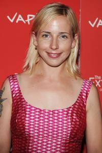 Alicia Goranson at the premiere of