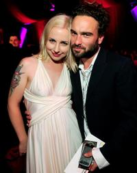 Alicia Goranson and Johnny Galecki at the 6th Annual TV Land Awards.