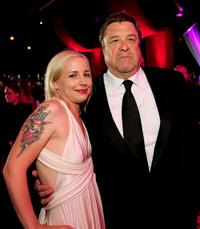 Alicia Goranson and John Goodman at the 6th Annual TV Land Awards.