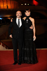 Fernando Guillen-Cuervo and Olga Kurylenko at the Spain premiere of