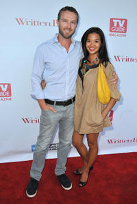 Devon Gummersall and Jenn Liu at the WGA's 101 Best Written Series Event in California.