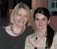 Director Juliet McKoen and Shirley Henderson at the photocall of