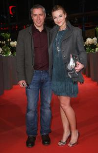 Ralph Herforth and Annika Kipp at the premiere of