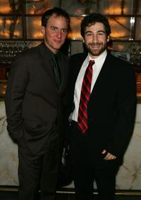 Neal Huff and Scott Schwatrz at the after party of the opening night of
