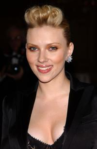 Scarlett Johansson at the 77th Annual Academy Awards.