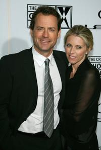 Greg Kinnear and wife Helen Labdon at the Lexus Critic's Choice Awards.