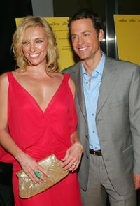 Greg Kinnear and Toni Collette at the premiere of