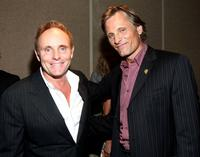 Robert Knott and Viggo Mortensen at the screening of