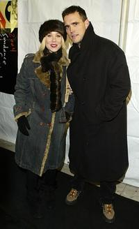 Christina Applegate and Matt Dillon at the premiere of