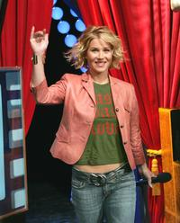 Christina Applegate at the MTV TRL Times Square Film Festival week.