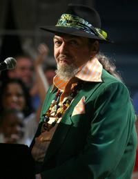 Dr. John at the 57th NBA All-Star Game.