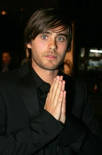 Jared Leto at the premiere of