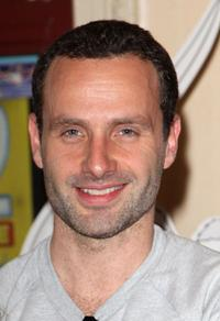 Andrew Lincoln at the Angelina Ballerina's Big Audition.