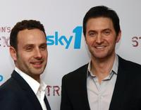 Andrew Lincoln and Richard Armitage at the world premiere of
