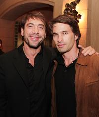 Javier Bardem and Olivier Martinez at the after party of the premiere of
