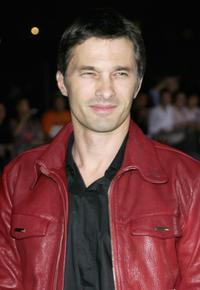 Olivier Martinez at the Emporio Armani One Night Only Fashion show.