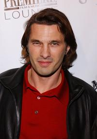 Olivier Martinez at the after party of the premiere of