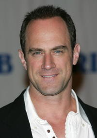Christopher Meloni at the Friars Club roasting of Jerry Lewis.