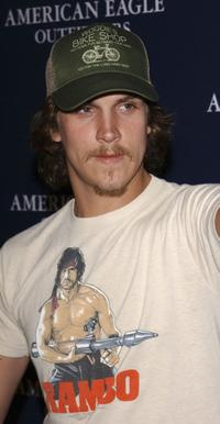 Jason Mewes at the AE Jeans Will Rock You Campaign.