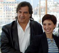 Gerard Meylan and Ariane Ascaride at the photocall of