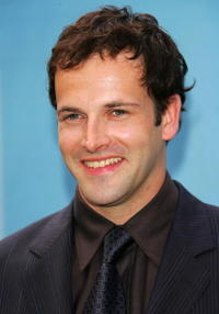 Jonny Lee Miller at the CBS Upfront presentation.