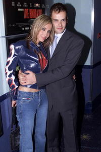 Jonny Lee Miller and Natalie Appleton at the premiere of