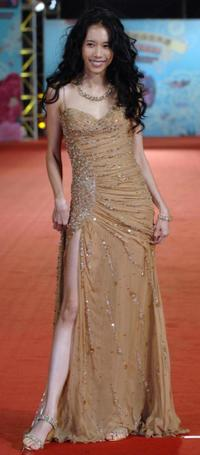 Karen Mok at the 43rd Golden Horse Film Awards.