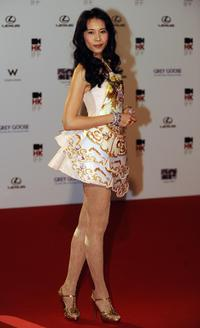Karen Mok at the 33rd Hong Kong International Film Festival (HKIFF).