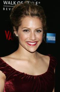 Brittany Murphy at the Rodeo Drive Walk of Style event.