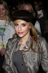 Brittany Murphy at the Diesel Fall 2008 fashion show during the Mercedes-Benz Fashion Week Fall 2008.
