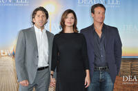 Leland Orser, Jeanne Tripplehorn and producer Todd Traina at the photocall of