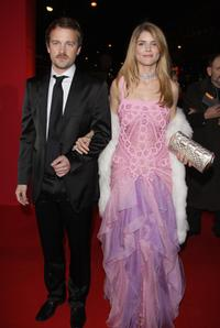 Jocelyn Quivrin and Alice Taglioni at the Cesar Film Awards 2008.