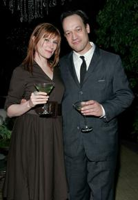 Suzanne Keilly and Ted Raimi at the Sundance Channel's launch of Robert Redford's